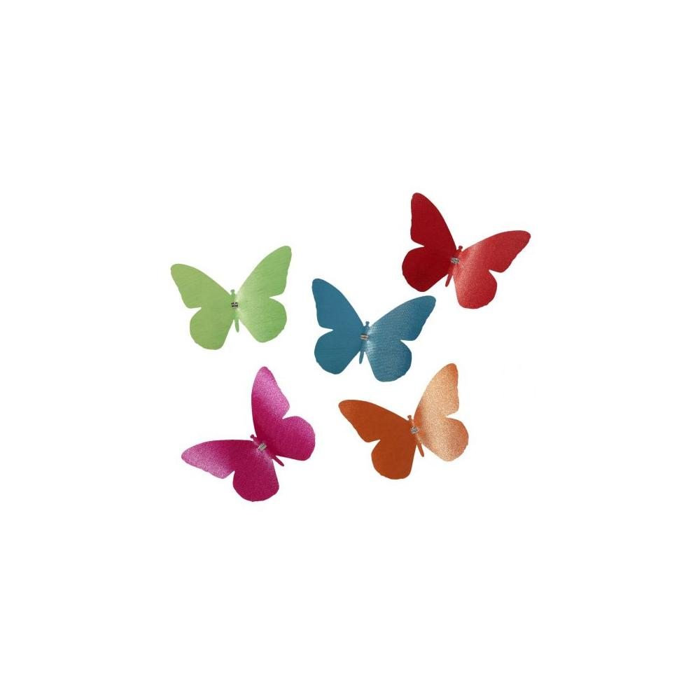 See Details - Butterfly with Clip (Color:Green)