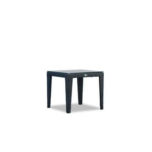New Miami Lakes End Table w/Clear Glass