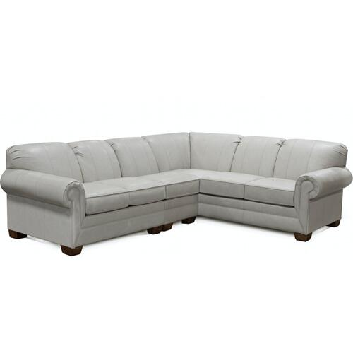 1430LSR-SECT Monroe Leather Sectional