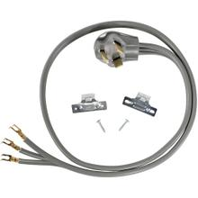 3-Wire Open-End-Connector 30-Amp Dryer Cord, 6ft