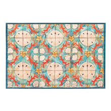Liora Manne Illusions Shell Tile Indoor/Outdoor Mat Ocean