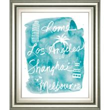 """Sightseeing Il"" By Lottie Fontaine Framed Print Wall Art"