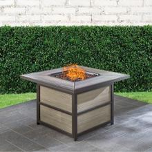 Hanover Chateau 40,000 BTU Gas Fire Pit Coffee Table, CHATEAUFP-SQ