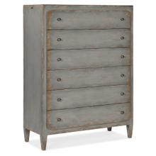 Product Image - Ciao Bella Six-Drawer Chest- Speckled Gray