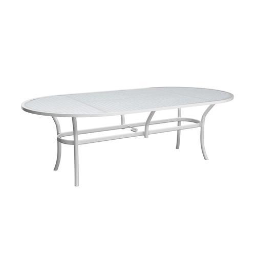 "Castelle - 86"" Savannah Oval Dining Table"