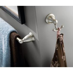 Brantford chrome double robe hook
