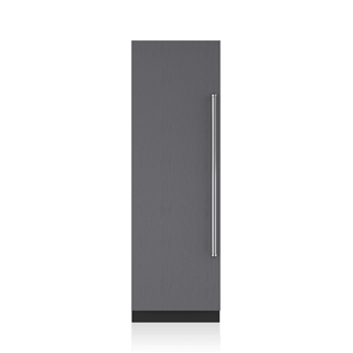 "!!! SAVE $1,000 !!! - SUBZERO LEFT HINGE 24"" Designer Column Refrigerator/Freezer with Ice Maker - Panel Ready / WRONG HINGE SIDE ORDERED BY CUSTOMER/ FULL WARRANTY"