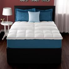 Twin Deluxe Lumbar Feather Bed Mattress Topper Twin