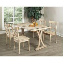 Callista Folding Dining Set - Table and 4 Chairs
