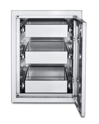 Infinite Series Large Built-In Cabinet with Three Single Drawers
