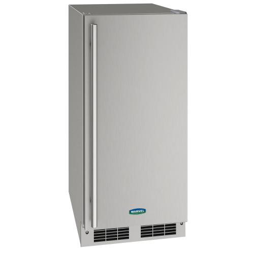 Marvel - 15-In Undercounter Nugget Ice Machine with Pump - Yes