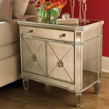 Monaco Petite Chairside Door Chest