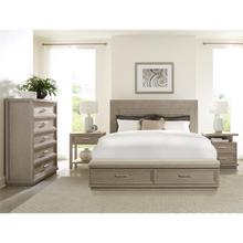 See Details - Cascade - Queen/king Storage Bed Rails - Dovetail Finish