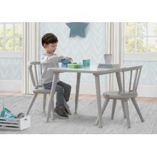Windsor Table & 2 Chair Set - Grey (026)