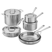 ZWILLING Aurora Stainless Steel 10 Piece Cookware Set