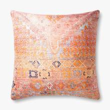 P0885 Poly Only Coral / Multi Pillow