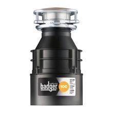 See Details - Badger 100 Garbage Disposal, 1/3 HP