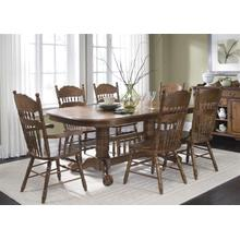 View Product - Double Pedestal Table Top