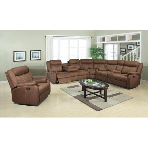 """American Wholesale Furniture - 3 PC Sectional 122"""" x 118"""""""