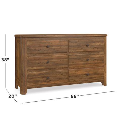 Bench*Made Maple 6 Drawer Dresser