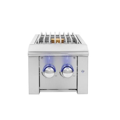 Summerset Professional Grills - Alturi Double Side Burner w/ LED Illumination