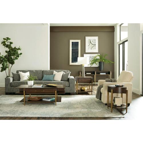 Dekker - Rectangular Coffee Table - Roasted Walnut Finish