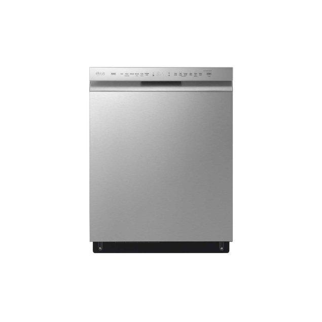 LG Appliances Front Control Dishwasher with QuadWash™
