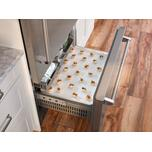 "Bluestar 36"" Pro Built-In Refrigerator/freezer Left Hinge"