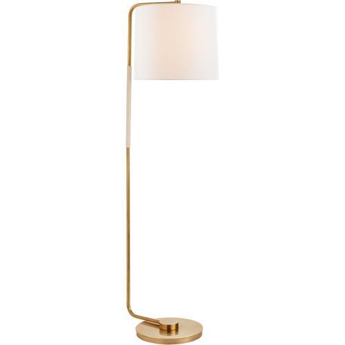 Visual Comfort BBL1070SB-L Barbara Barry Swing 55 inch 75 watt Soft Brass Floor Lamp Portable Light, Articulating