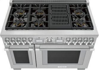 Gas Freestanding Range 48'' Pro Grand™ Commercial Depth PRG486WLG