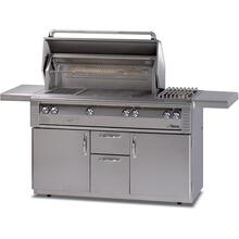 See Details - 56 searzone GRILL W/SIDEBURNER CART