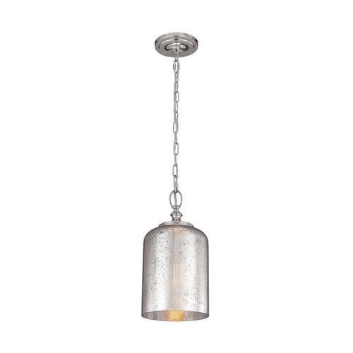 Hounslow Mercury Glass Mini Pendant Oil Rubbed Bronze