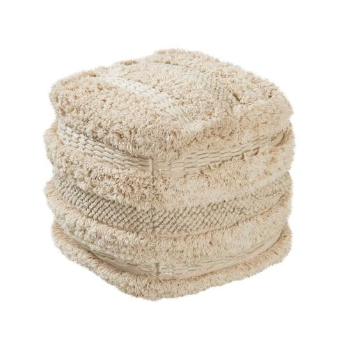 Yorba Cotton Pouf