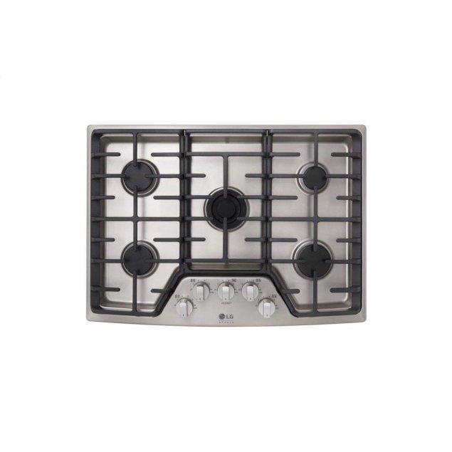 LG Appliances LG STUDIO 30'' Gas Cooktop