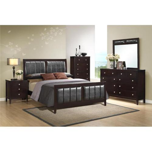 Elements - Lawrence King Bedroom Set: King Bed, Nightstand