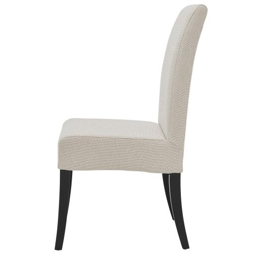 Valencia Fabric Dining Side Chair, Cardiff Cream