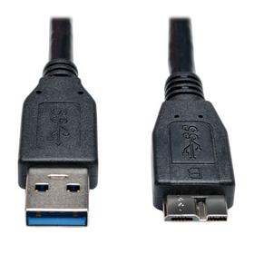 USB 3.0 SuperSpeed Device Cable (A to Micro-B M/M) Black, 3 ft. (0.91 m)