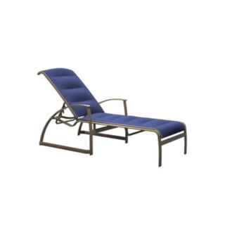 See Details - MainSail Padded Sling Chaise Lounge