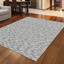 "Radici Bellissima 9 Gray/Silver Rectangle 2'0""X3'0"""
