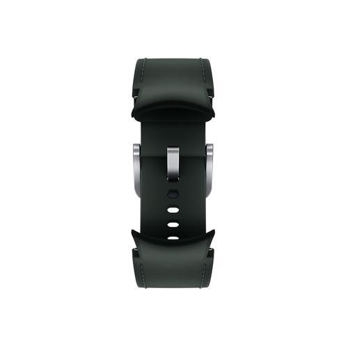 Samsung - Galaxy Watch4, Galaxy Watch4 Classic Hybrid Leather Band, S/M, Green