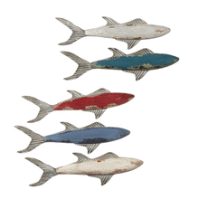 Small Fish Wall Decor (5 asstd)
