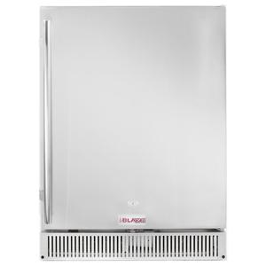 "Blaze GrillsBlaze Outdoor Rated Stainless 24"" Refrigerator 5.2 cu. ft."