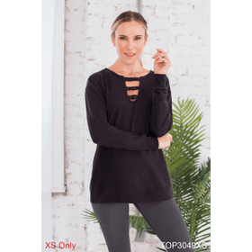 Drop and Give Me Zen Pullover - XS (3 pc. ppk.)