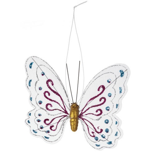 Beautiful Butterfly Ornaments - Sm. (24 pc. ppk.)