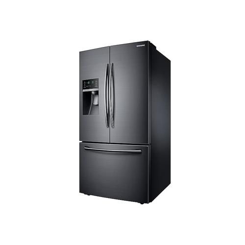 23 cu. ft. French Door Refrigerator in Black Stainless Steel