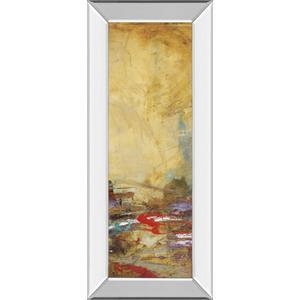 "Classy Art - ""Villarreal Santos Il"" By Abulia Mirror Framed Print Wall Art"