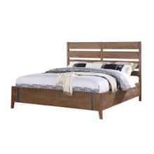 Emerald Home Viewpoint Queen Bed Kit W/slat Hb Driftwood B977-10-k