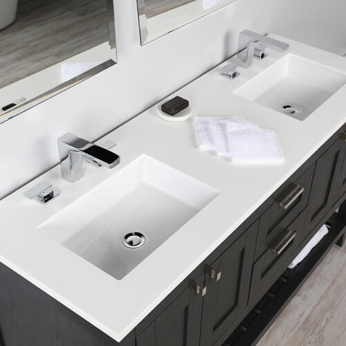 Countertop for vanity STL-F-72 & STL-W-72, with a cut-out for Bathroom Sink 5452UN.