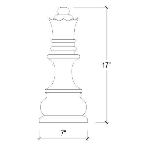 Product Image - Queen Chess Piece
