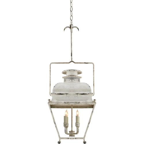 Visual Comfort CHC2215OW E. F. Chapman Holborn 4 Light 14 inch Old White Foyer Pendant Ceiling Light